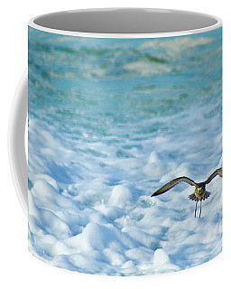 Pacific Golden Plover Flying Coffee Mug