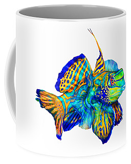 Pacific Mandarinfish Coffee Mug