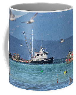 Coffee Mug featuring the photograph Pacific Ocean Herring by Randy Hall