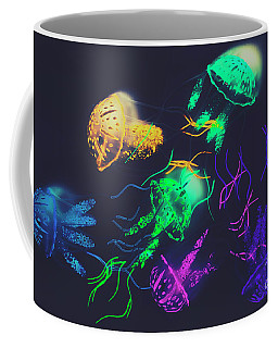 Pacific Pop-art Coffee Mug
