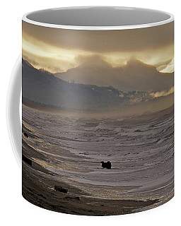 Coffee Mug featuring the photograph Pacific Storm - 365-271 by Inge Riis McDonald