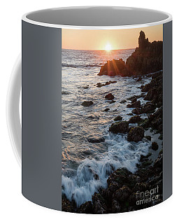 Pacific Sunset, Asilomar State Beach, Pacific Grove Ca #10030 Coffee Mug
