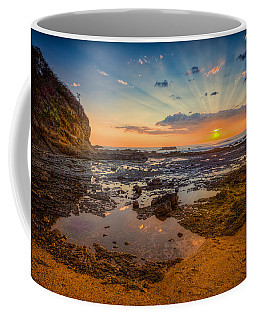 Coffee Mug featuring the photograph Pacific Sunset In Costa Rica by Rikk Flohr