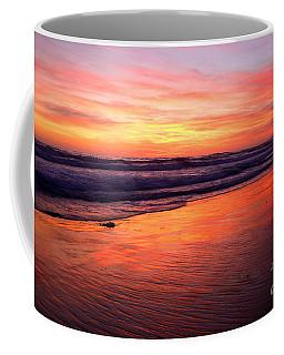 Coffee Mug featuring the photograph  Cardiff Coast  by John F Tsumas