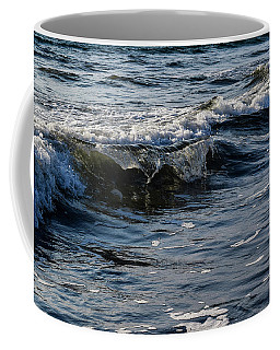 Coffee Mug featuring the photograph Pacific Waves by Nicole Lloyd