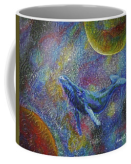 Pacific Whale In Space Coffee Mug