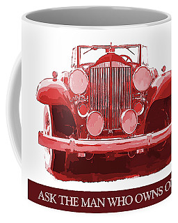 Packard Ask The Man Red Coffee Mug