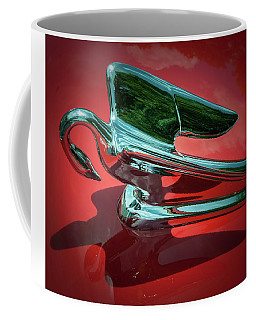 Coffee Mug featuring the photograph Packard Caribbean Hood Ornament by Samuel M Purvis III