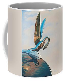 Coffee Mug featuring the painting Packard by Joe Winkler