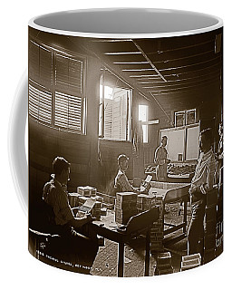 Packing Cigars Key West Florida Coffee Mug by John Stephens