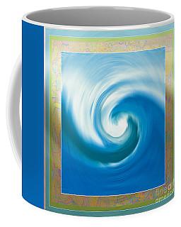 Pacswirl With Border Coffee Mug