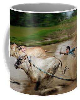 Pacu Jawi Bull Race Festival Coffee Mug