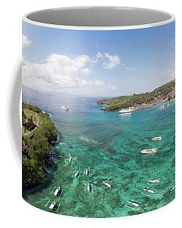 Padang Bai Panorama In Bali Coffee Mug