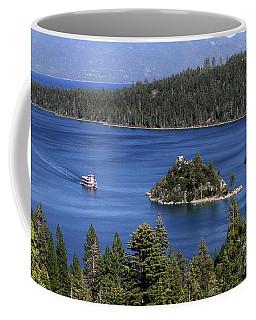 Paddle Boat Emerald Bay Lake Tahoe California Coffee Mug