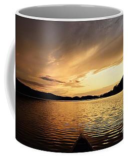 Paddling At Sunset On Kekekabic Lake Coffee Mug