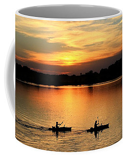 Paddling Back To Camp Coffee Mug