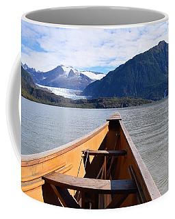 Paddling On Mendenhall Lake Coffee Mug