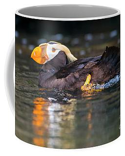 Paddling Puffin Coffee Mug