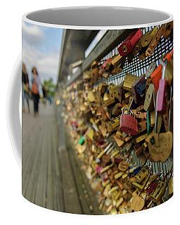 Padlock Bridge Coffee Mug
