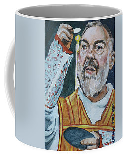 Padre Pio Coffee Mug by Bryan Bustard