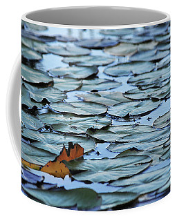 Coffee Mug featuring the photograph Pads by Scott Cordell