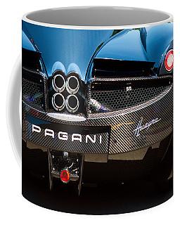 Pagani Huayra Black Coffee Mug