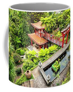 Pagoda Pool Coffee Mug