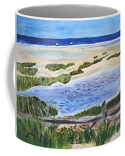 Coffee Mug featuring the painting Paines Creek  by Donna Walsh