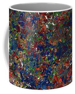 Paint Number 1 Coffee Mug by James W Johnson