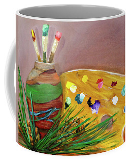 Paint On My Palette Coffee Mug
