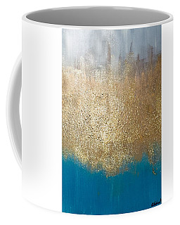 Paint The Sky Gold Coffee Mug