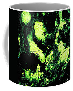 Coffee Mug featuring the painting Paintball by Robbie Masso
