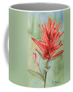 Paintbrush Portrait Coffee Mug