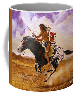 Painted Arrow Coffee Mug