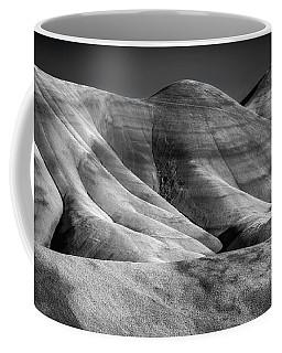 Painted Black And White Coffee Mug