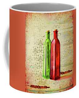 Painted Bottles Coffee Mug by Larry Bishop