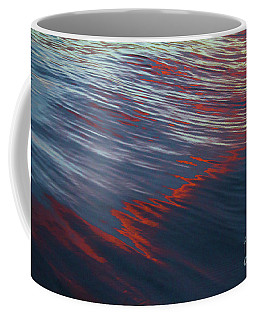 Painted By Nature - Water On The Flight Through The Fiery Skies Coffee Mug