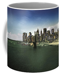 Coffee Mug featuring the photograph Painted City by Dave Beckerman
