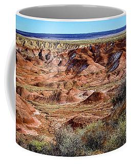 Painted Desert In Winter Coffee Mug