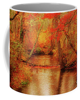 Painted Fall Coffee Mug