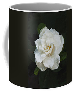 Coffee Mug featuring the photograph Painted Gardenia by Phyllis Denton