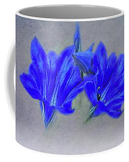 Painted Gentians Coffee Mug