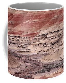 Coffee Mug featuring the photograph Painted Hills 2b by Leland D Howard