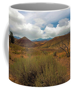 Painted Hills Landscape In Central Oregon Coffee Mug