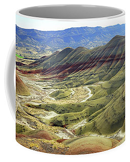 Painted Hills Panorama  Coffee Mug