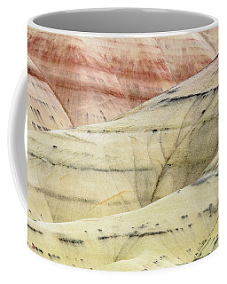 Coffee Mug featuring the photograph Painted Hills Ridge by Greg Nyquist