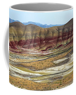 Painted Hills View From Overlook Coffee Mug