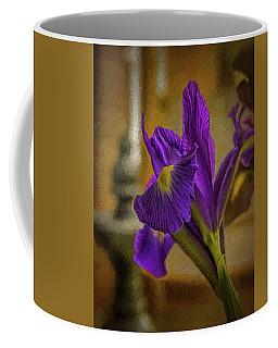 Painted Iris Coffee Mug