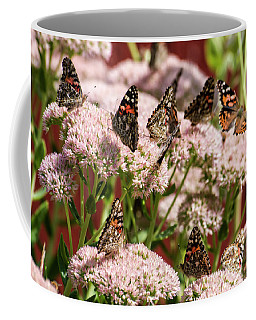 Painted Ladies Gathering Coffee Mug