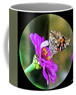 Painted Lady In Fall Coffee Mug